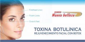 Toxina Botulínica - Rejuvenezca